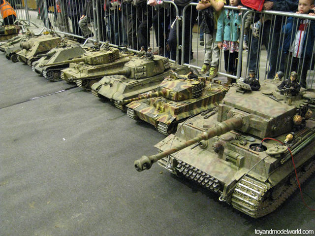 Tiger tanks